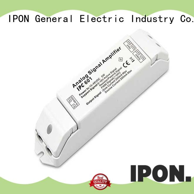 IPON LED signal amplifier manufacturer for Lighting control system
