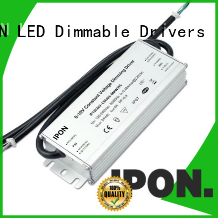 Waterproof Series led driver price IPON for Lighting control system