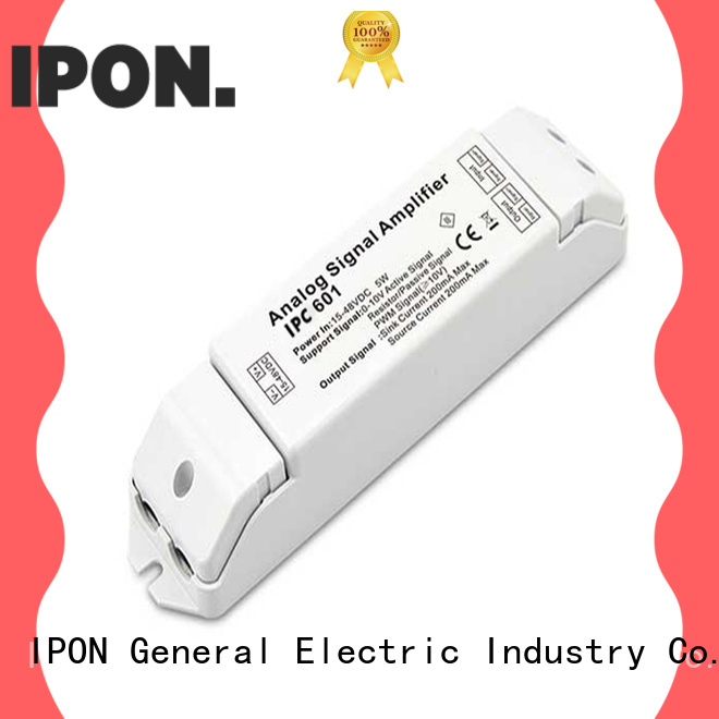IPON LED 0-10V/1-10V Series led amplifier Factory price for Lighting control system