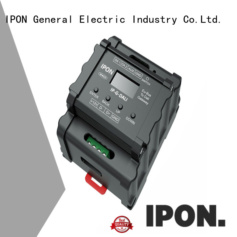 IPON LED gateway interfaces in China for Lighting control system