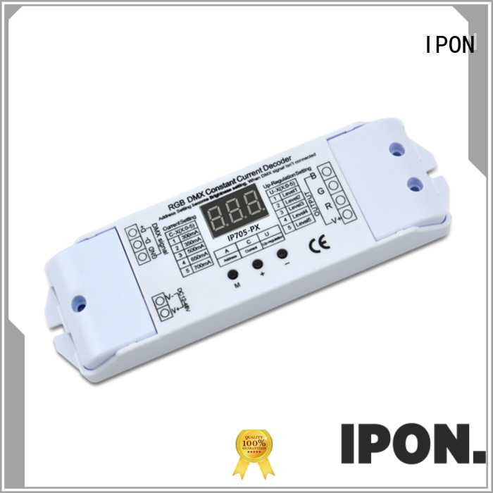 IPON dmx dmx decoder China manufacturers for Lighting adjustment
