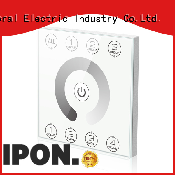 IPON LED high quality dali touch panel China factory for Lighting control system