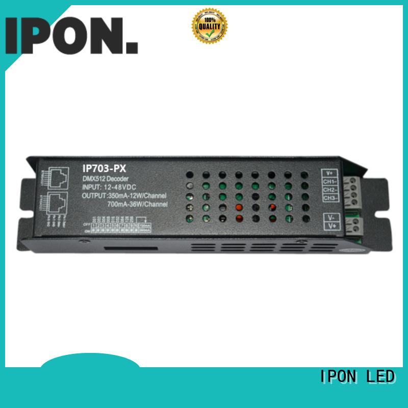 IPON LED led decoder Factory price for Lighting control