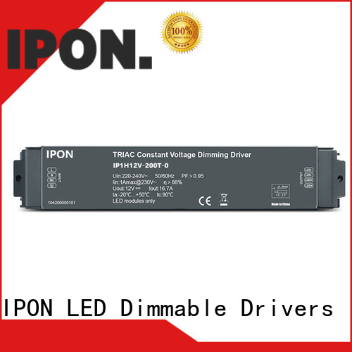 IPON LED dimmable driver Suppliers for Lighting adjustment