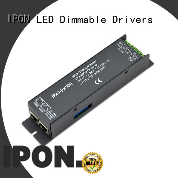 IPON LED dmx dimmable supplier for Lighting control system