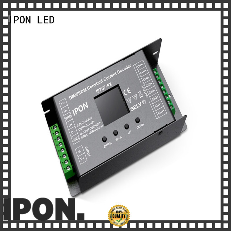 DMX Series dmx 0-10v converter Factory price for Lighting adjustment