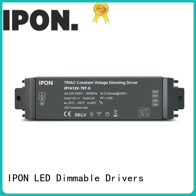 IPON LED dimmable driver supplier for Lighting control system