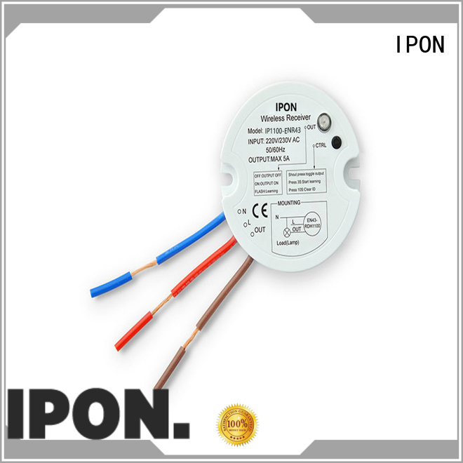 IPON wireless switch in China for Lighting adjustment