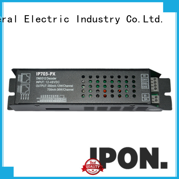 Top programmable dmx led controller China manufacturers for Lighting control system