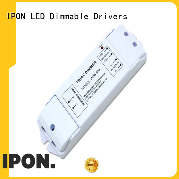 IPON LED phase cut dimmable driver China for Lighting adjustment