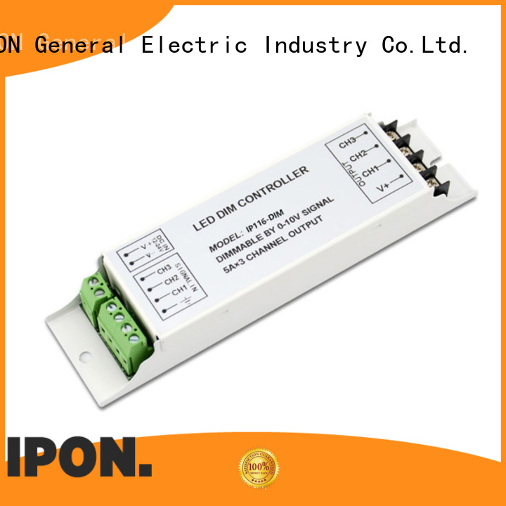 0-10V/1-10V dimmer for led driver manufacturer for Lighting control