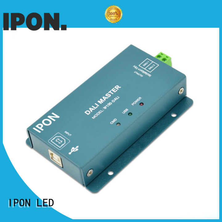IPON LED dali master Factory price for Lighting control
