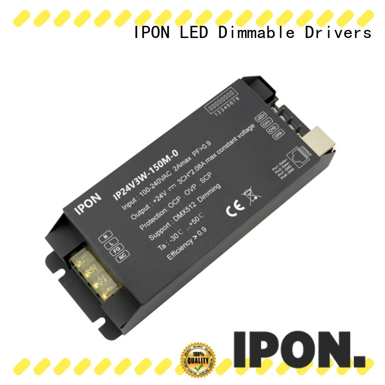 IPON LED Top dmx dimmer led Factory price for Lighting control