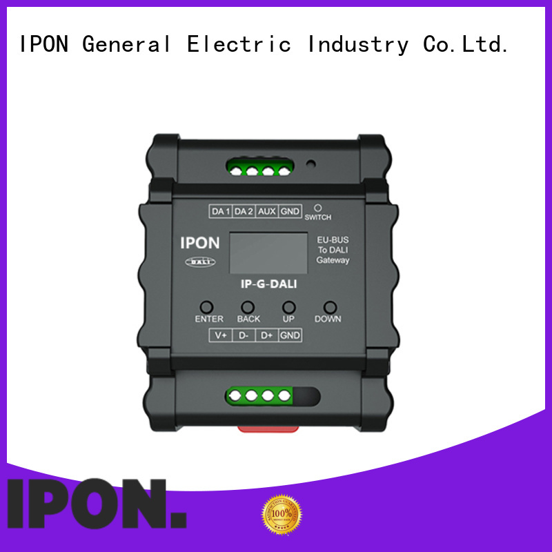 IPON LED gateway interfaces in China for Lighting adjustment