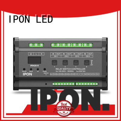 IPON LED IP-BUS Control System relay switch manufacturer for Lighting control system