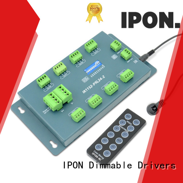 IPON high quality dmx led driver China manufacturers for Lighting adjustment