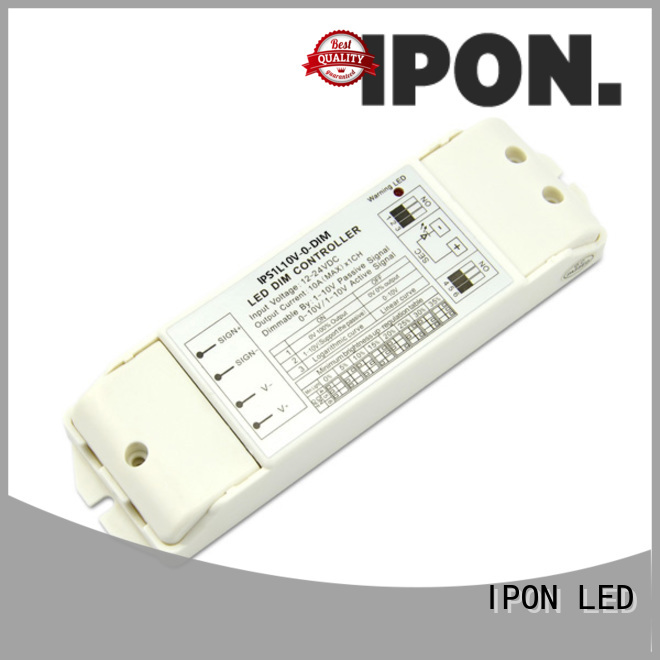 IPON LED 0-10V/1-10V dimmers led in China for Lighting control