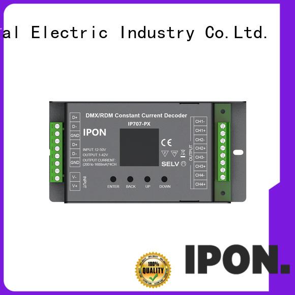 DMX Series dmx decoder led IPON for Lighting control