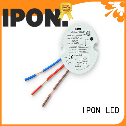 IPON LED stable quality wireless batteryless switch factory for Lighting adjustment