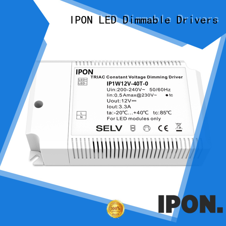 IPON LED durable dimmable driver Factory price for Lighting adjustment