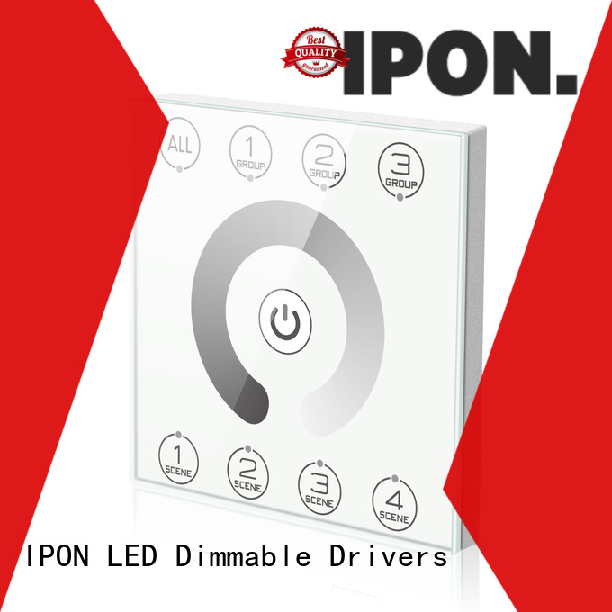 IPON LED touch panel control China for Lighting adjustment