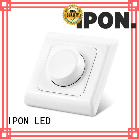 IPON LED 3 phase dimmer switch factory for Lighting adjustment