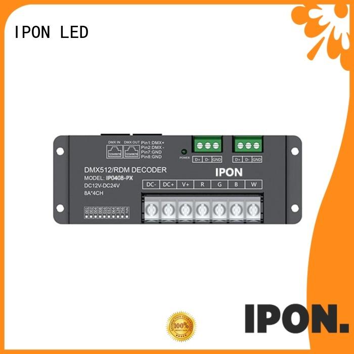 IPON LED DMX driver dmx supplier for Lighting control system
