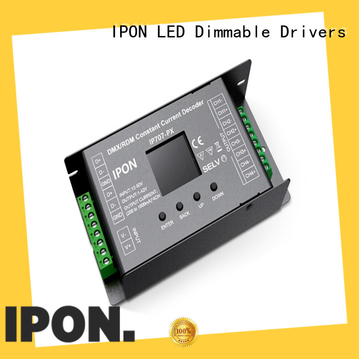 IPON LED dmx dmx decoder led China for Lighting control system