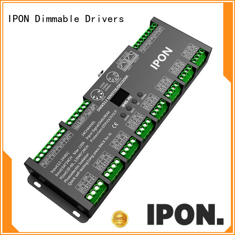 IPON DMX Series driver dmx Factory price for Lighting control