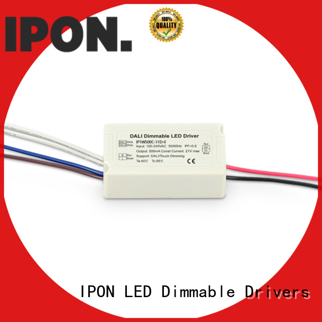 IPON LED Top dali rgb driver Factory price for Lighting adjustment