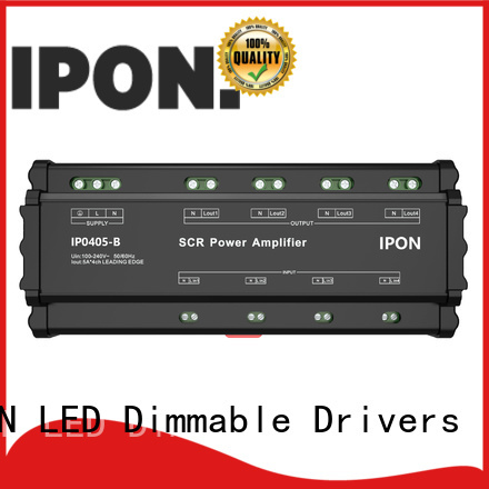 IPON LED power amplifiers manufacturer for Lighting control system