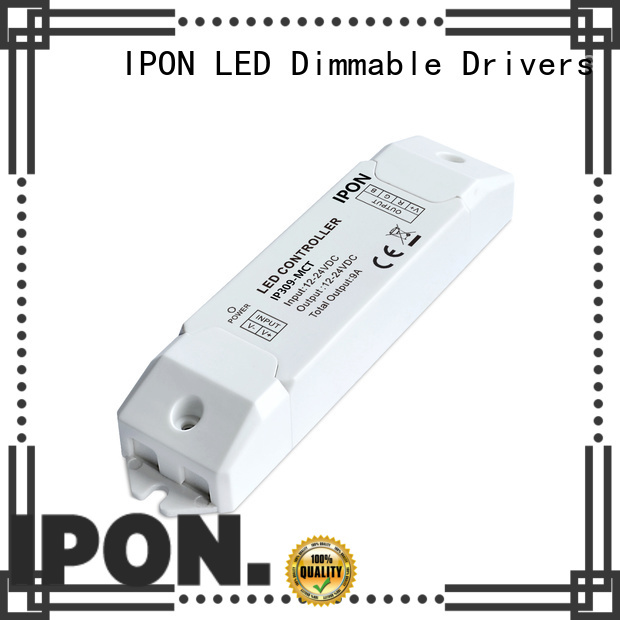 IPON LED Wireless led driver dimmer factory for Lighting adjustment