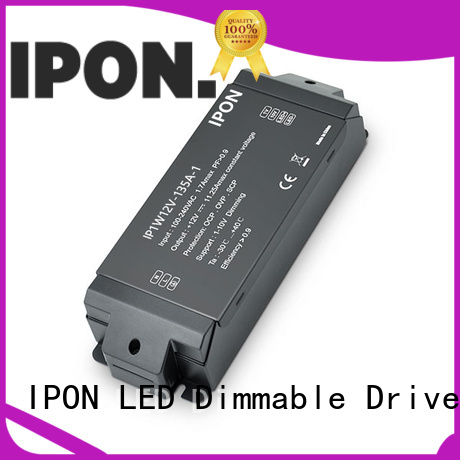 IPON LED professional constant voltage dimmable led driver supplier for Lighting control system