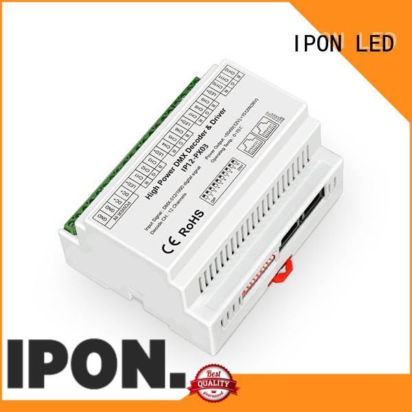 IPON LED Custom dmx decoder 64 channel manufacturer for Lighting control
