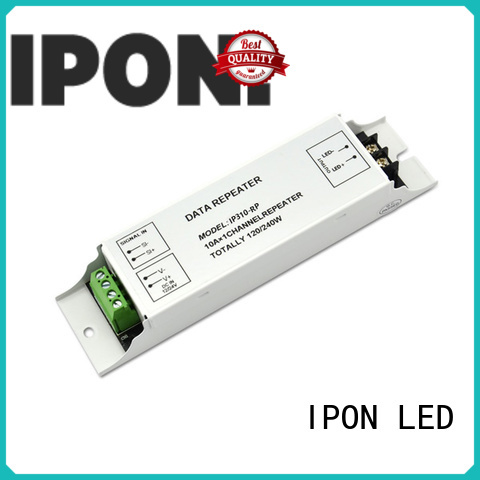 IPON LED High-quality rgb amplifier China suppliers for Lighting adjustment
