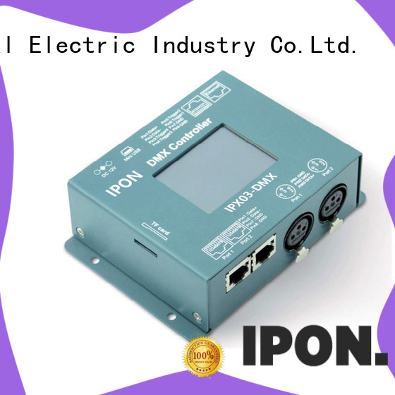 IPON LED DMX Series led dimming controller factory for Lighting control system