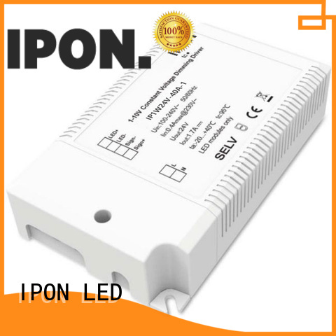 IPON LED dimmable driver China suppliers for Lighting adjustment