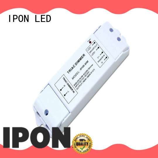 IPON LED analog dimmer switch factory for Lighting adjustment