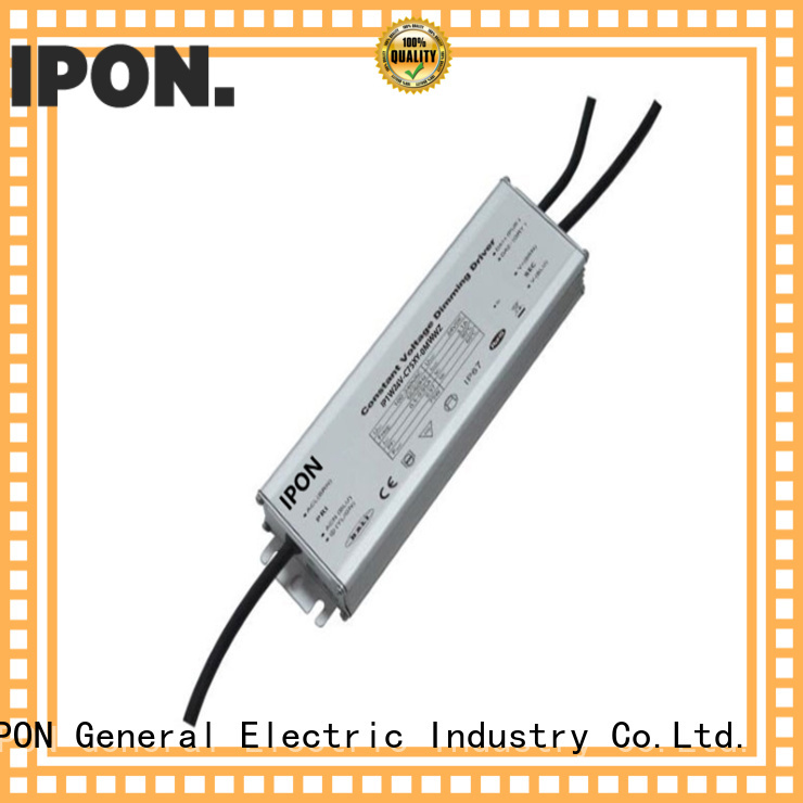 IPON LED Top quality waterproof led driver manufacturer for Lighting control