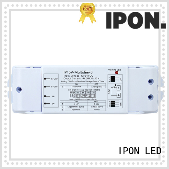 IPON LED dimmers led manufacturer for Lighting adjustment