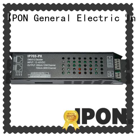 IPON LED DMX Series dmx decoder led factory for Lighting control system