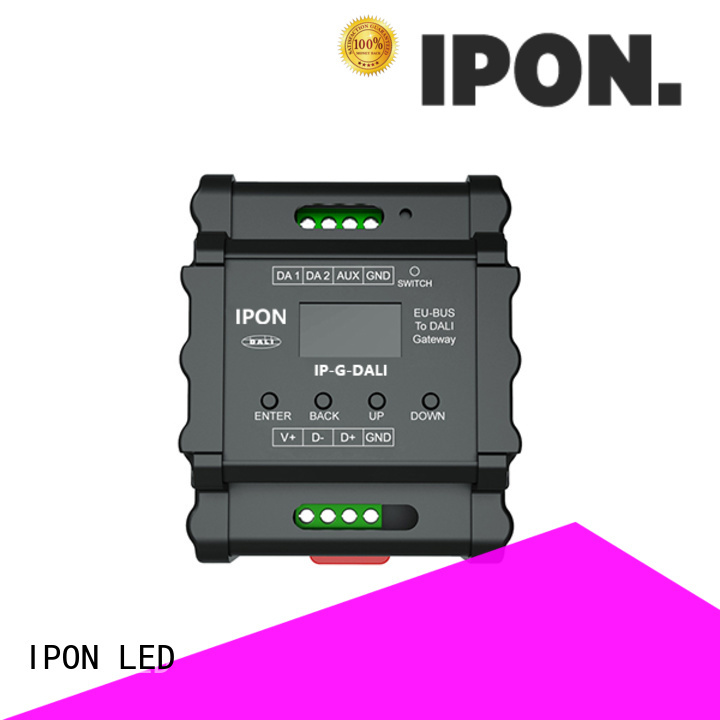 IPON LED quality gateway interfaces supplier for Lighting adjustment