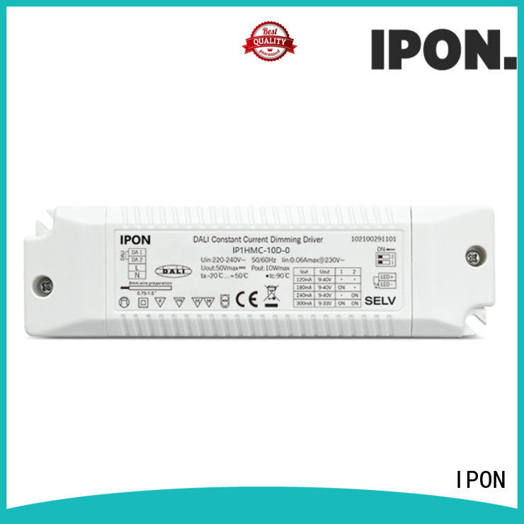 IPON led dimmable drivers supplier for Lighting adjustment