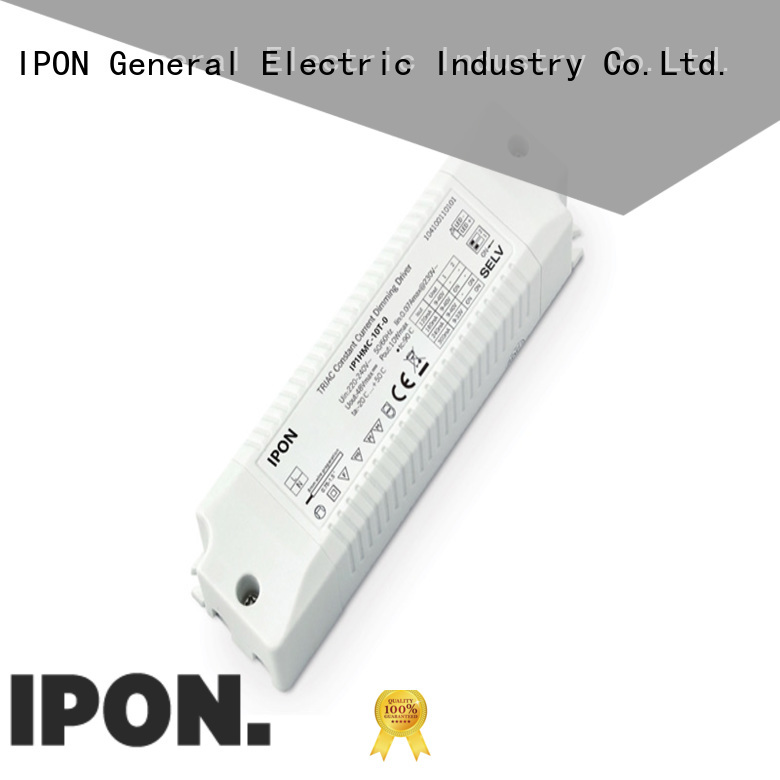 IPON dimmable drivers Factory price for Lighting adjustment