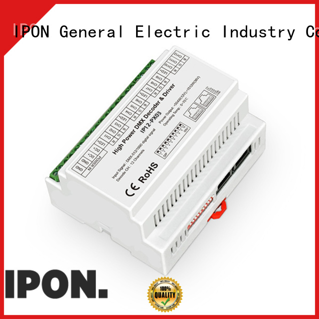 IPON high quality dmx led driver in China for Lighting control