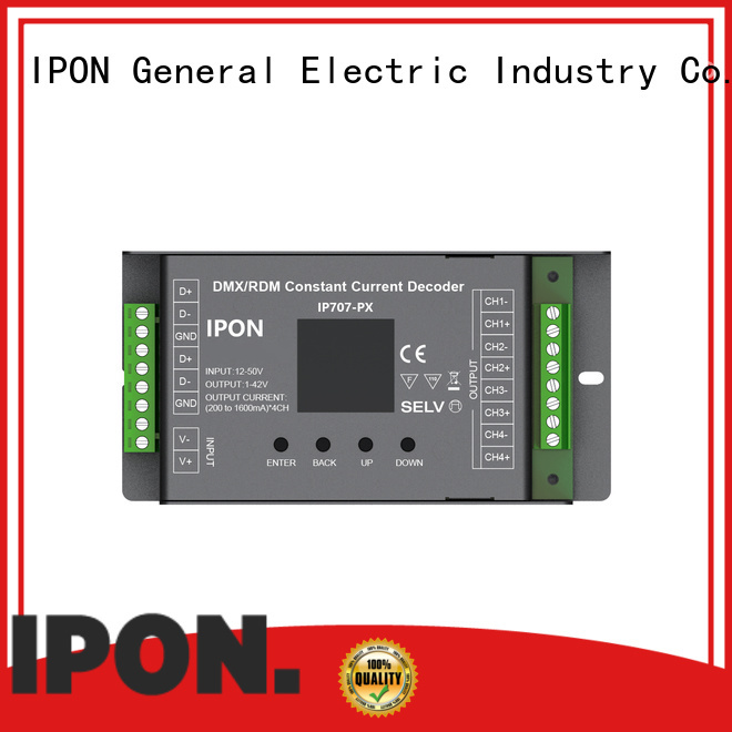 IPON LED High-quality decoder dmx 512 Factory price for Lighting control system