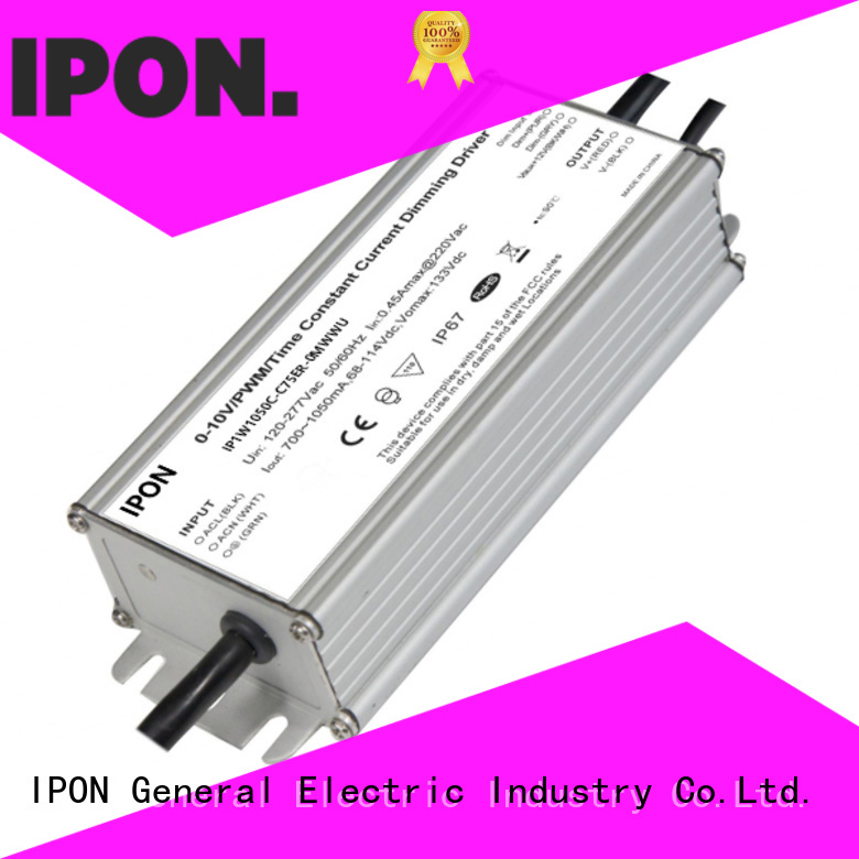 IPON LED programmble drivers China for Lighting adjustment
