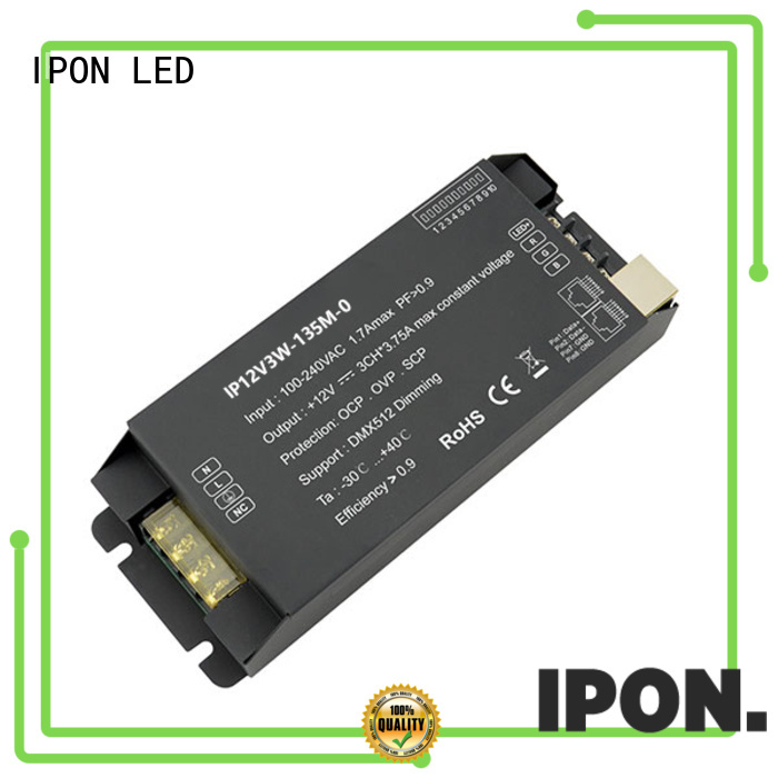IPON LED dmx dimmer China suppliers for Lighting control system