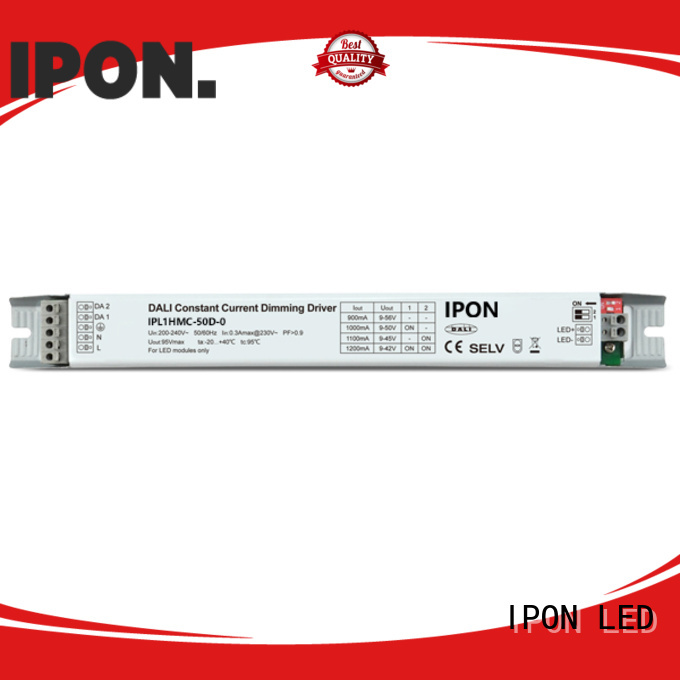 IPON LED DALI Series dimmable drivers Factory price for Lighting control