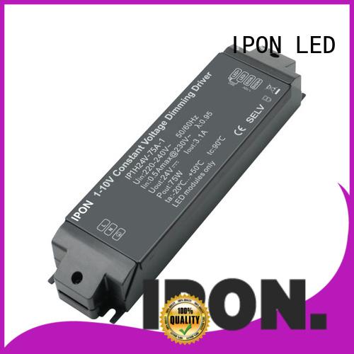 IPON LED constant voltage dimmable led driver in China for Lighting control